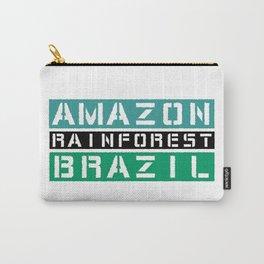 Amazon rainforest Brazil Carry-All Pouch