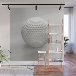 Novelty Golf Ball Wall Mural