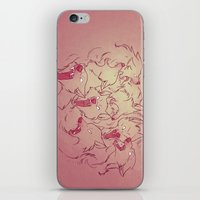 wolves iPhone & iPod Skins featuring Wolves by Beth Turnsek
