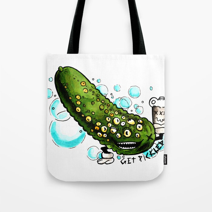 Get Pickled Tote Bag