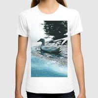 swim T-shirts featuring Swim by MaximusMax76