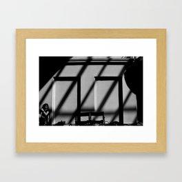 / / / / / Framed Art Print