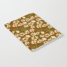 Flannel Flower Fields Notebook