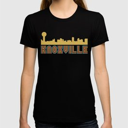 Vintage Style Knoxville Tennessee Skyline T-shirt