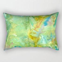 Emerald Seas Rectangular Pillow