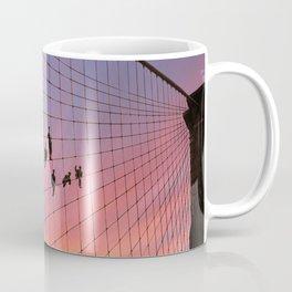 Brooklyn Bridge Painters Quitting Time Coffee Mug