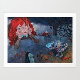 Childs room Art Print