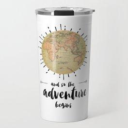 AND SO THE ADVENTURE BEGINS 3 Travel Mug