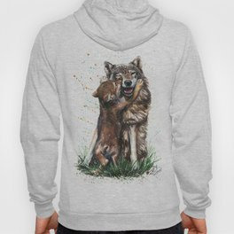Wolf - Father and Son Hoody