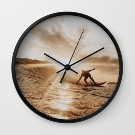 lets surf xiii Wall Clock