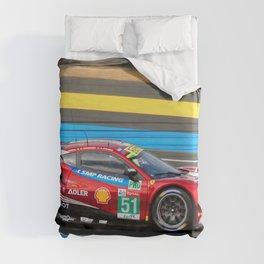 488 GTE EVO Italian Sports Car Le Mans Duvet Cover