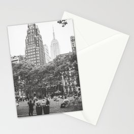 Bryant Park NYC Photography Stationery Cards