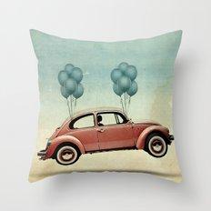 take flight, Bug Throw Pillow