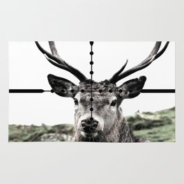 Deer hunter Rug