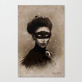 Dark Victorian Portrait Series: Mother Hecate Canvas Print