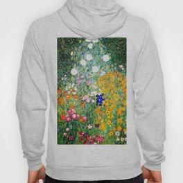 Flower Garden by Gustav Klimt vibrant Hoody