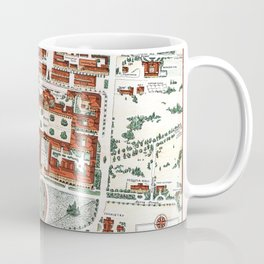 STANFORD CALIFORNIA University map Coffee Mug