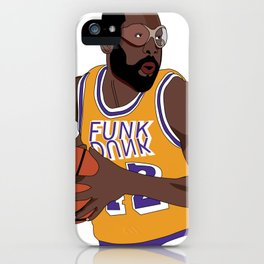 Los Angeles Basketball Legend iPhone Case