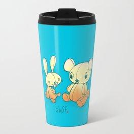 I like doing stuff with you  Travel Mug