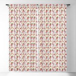 Merry Christmas Goats Blackout Curtain