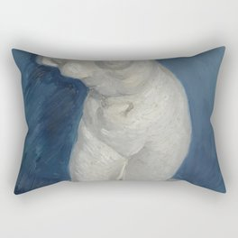 Vincent Van Gogh Torso of Venus 1886 Rectangular Pillow