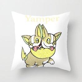 Yampvins Throw Pillow