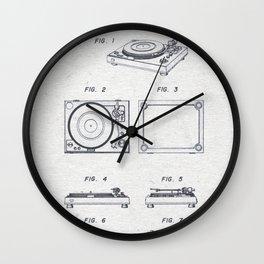 Record player 1979 Wall Clock