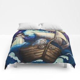 To Sail You Home Comforters