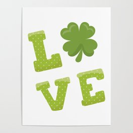 St. Patrick's Day LOVE Poster
