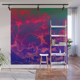 Cute Colorful Abstract Pattern Wall Mural