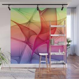 Color Flash, Modern Abstact Fractal Art Wall Mural