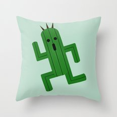 Cactuar Throw Pillow