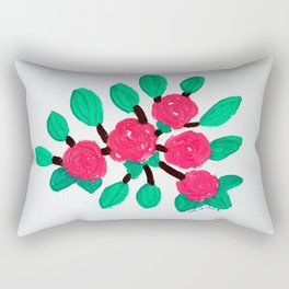 Roses IV Rectangular Pillow