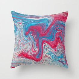 Speckled Eyeshadow Throw Pillow