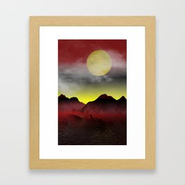 the other island Framed Art Print