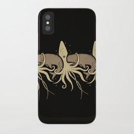 THE WHALE AND THE SQUID iPhone Case