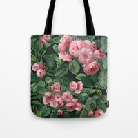 amelie Tote Bags featuring Amelie by Marta Li