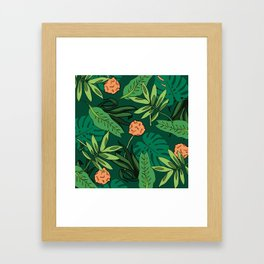 Deep In The Jungle... Framed Art Print