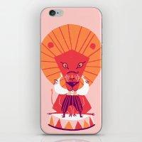 brave iPhone & iPod Skins featuring Brave by Carolina Búzio