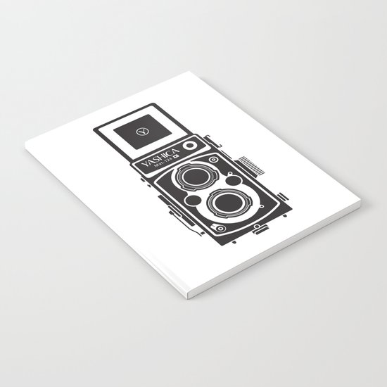 Yashica MAT 124G Camera Notebook