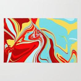 Acrylic Flow #1707 - Vainglorious Rug