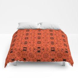 Flame Pinwheels Comforters
