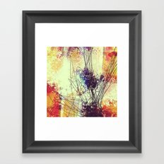 Slow Burn II Framed Art Print