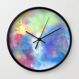 light watercolor Wall Clock