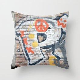 Peace Street Throw Pillow