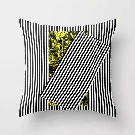 Come Out of the Shadow Throw Pillow