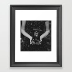 Vintage Heart Framed Art Print