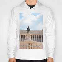 rome Hoodies featuring Rome by Anya Kubilus