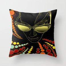 Kisses from Planet Uzu - last version + pillow version Throw Pillow