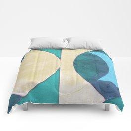 Waxing Crescent Comforters